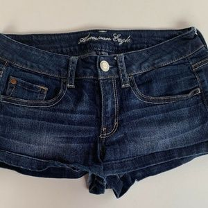 American Eagle Outfitters Blue Denim Shorts 6